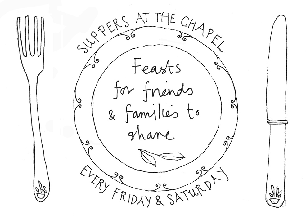 A6 flyer The Chapel suppers 1 web