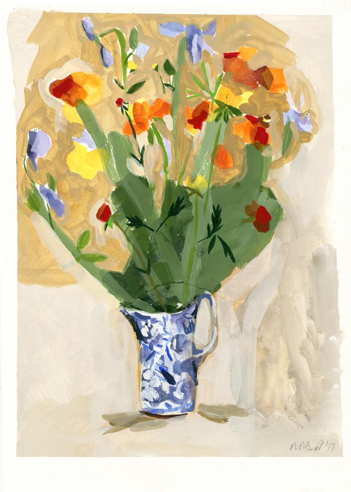 blue flowering jug LR