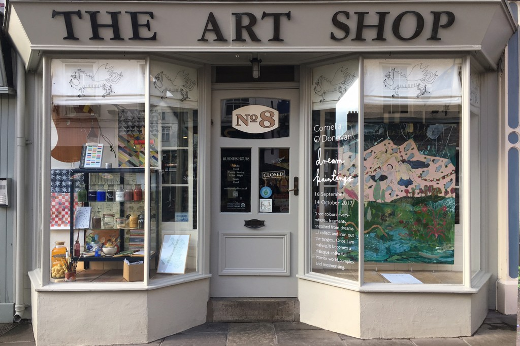 the art shop front