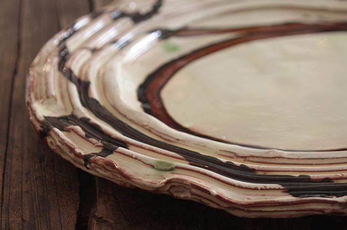 Dylan oval platter detail web