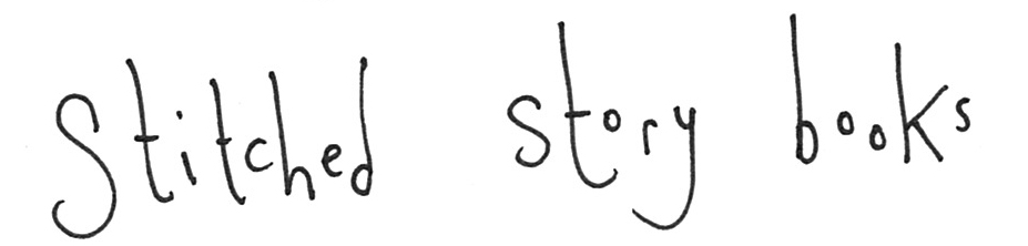 stitched story books